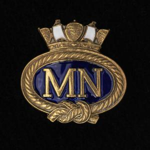 badge, lapel, Merchant Navy