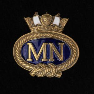 badge, lapel, Merchant Navy