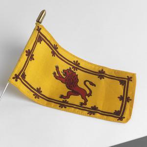 miniature flag, Royal Banner of Scotland