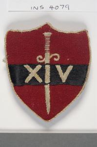 badge, formation, British, 14th Army