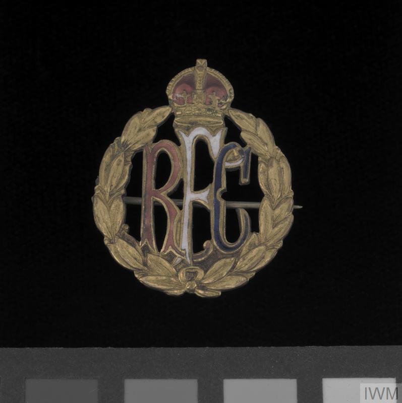 badge, sweetheart, Royal Flying Corps