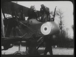 WITH THE ROYAL FLYING CORPS (SOMEWHERE IN FRANCE) [Main Title]