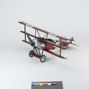 Aircraft Scale Model, Fokker DrI, German