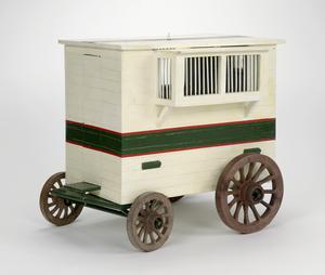 Horsedrawn Mobile Pigeon Loft