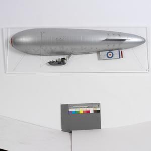 Sea-Scout Zero No.6 non-rigid airship (port side)