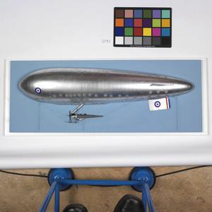 Sea-Scout non-rigid airship (port side)