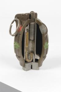 Grenade, hand and rifle, No 36 M Mk 1 (Sectioned)