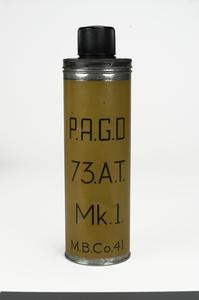 Grenade, hand, anti-tank, No 73 Mk 1 ('Thermos Flask')