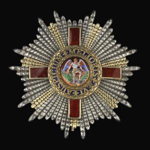 Star of a Knight Grand Cross of the Most Distinguished Order of St Michael and St George & GCMG