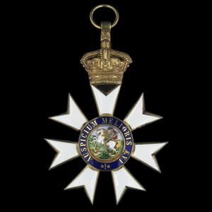 Badge of a Knight Grand Cross of the Most Distinguished Order of St Michael and St George & GCMG