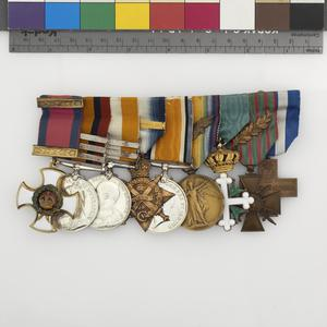Badge and Ribbon of a Companion of The Distinguished Service Order & DSO
