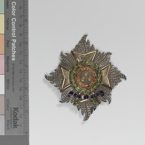 Badge of a Knight Grand Cross of the Most Honourable Order of the Bath (Military Division) & GCB