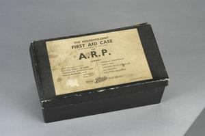Boots' Air Raid Precautions First Aid Case with contents