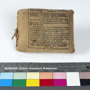 first field dressing pack