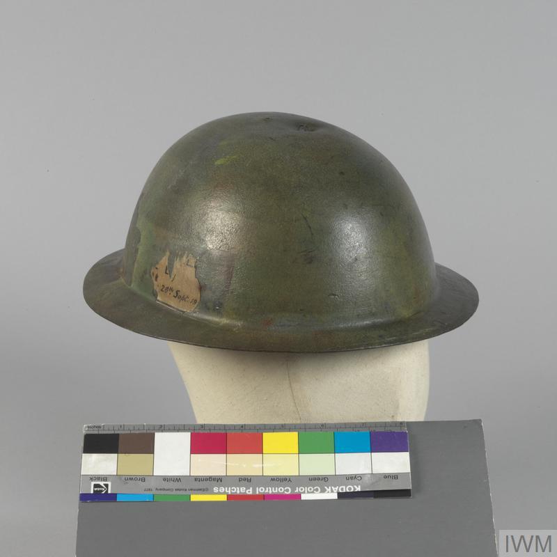 Steel Helmet, 1st Brodie pattern, original sample