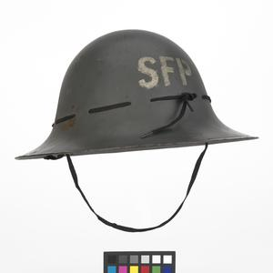 Steel Helmet, Civilian pattern: Supplementary Fire Party