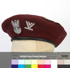 Beret: Senior Sergeant,  Polish Airborne Forces
