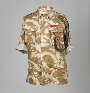 Shirt, Desert DPM: Lieutenant General's