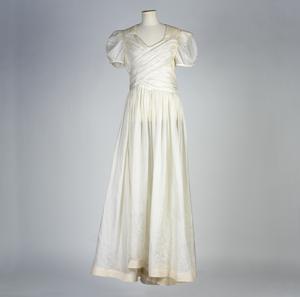 Wedding Dress (made of white parachute silk)