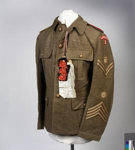 jacket, 1902 Pattern Service Dress, O/Rs - SP(1921)
