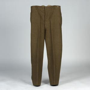 Trousers, Service Dress, 1926 pattern: O/Rs, British Army