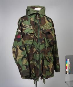 Smock, Camouflage DPM, Parachutist's, 1978 pattern: Brigadier (HQ 5th Infantry Brigade)
