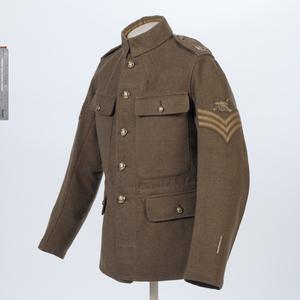 jacket, khaki Service Dress, Sergeant, Royal Field Artillery