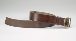 belt, brown leather, ATS