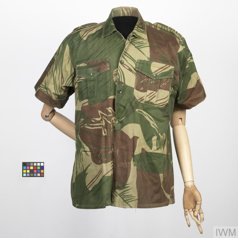 shirt, camouflage (Rhodesian) (UNI 5681)