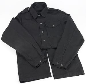 black, coverall (non-fireproof)