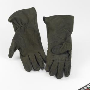 gloves, green
