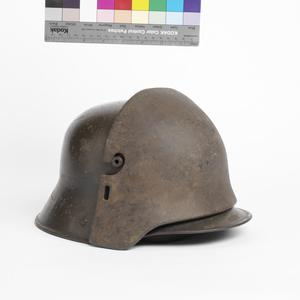 Frontal plate, for M1916 steel helmet