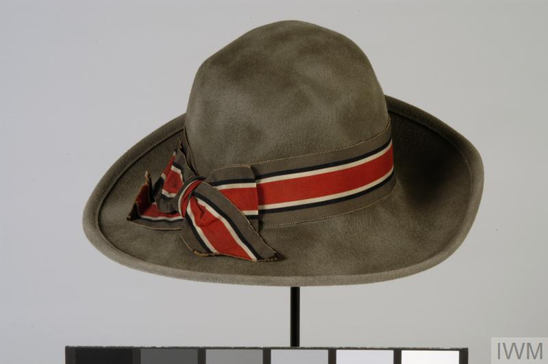 Hat, outdoor uniform:  Queen Alexandra's Imperial Military Nursing Service