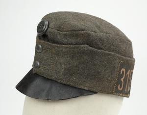 warrant officer's beret, black, Free Polish Forces