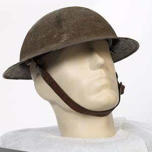 Steel Helmet, Brodie pattern (with added edging)