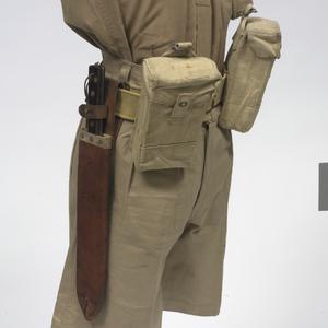 Australian machete with scabbard