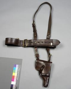 Belt, cross-brace & sword frog: Polish