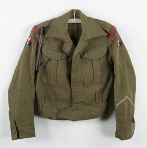 blouse, battledress, khaki, Royal Engineers
