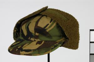 Cap, Combat Arctic, camouflage DPM: British