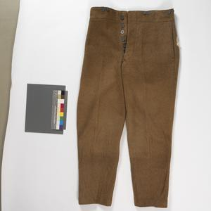 Trousers, 1902 pattern service dress: O/Rs, British Army