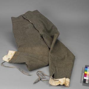 Trousers, M1909 Service Dress: O/R's, Italian Army