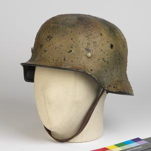 Steel Helmet, M1935 (camouflage painted): German