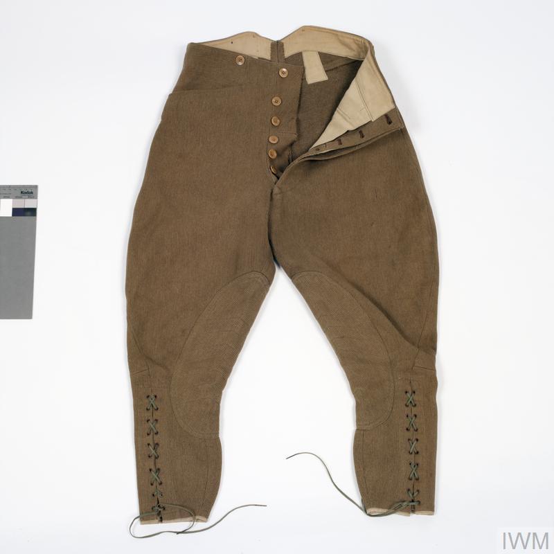 breeches, khaki Bedford cord, other ranks