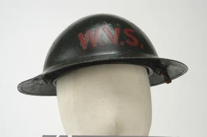 Steel Helmet, MKI (modified): Women's Voluntary Service