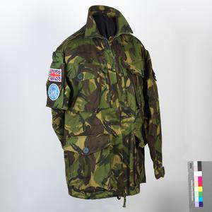 Smock, Camouflage DPM Combat Dress (late pattern): UNPROFOR