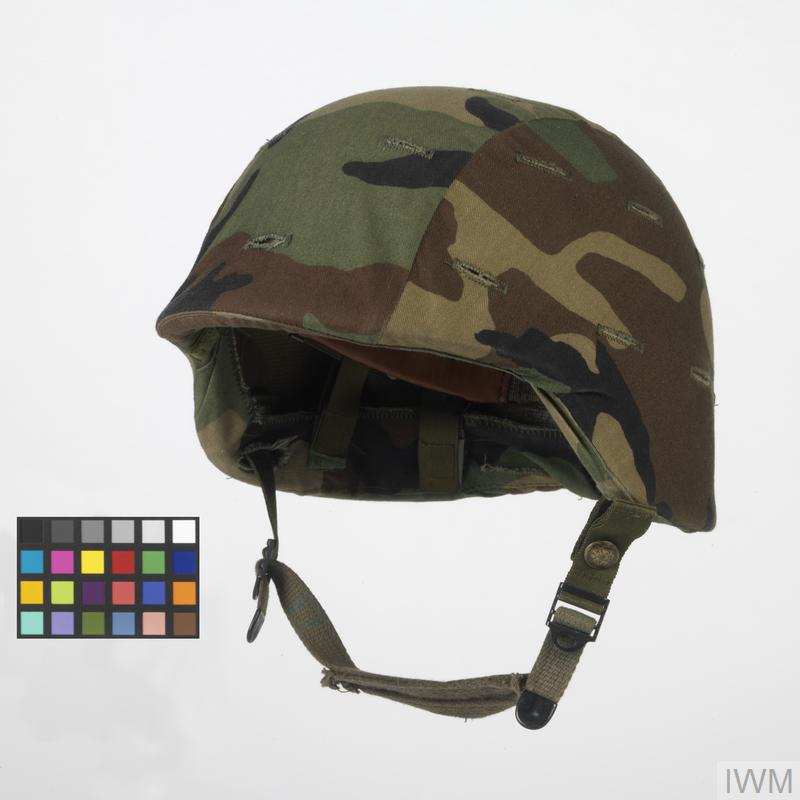 Helmet Pasgt With Camouflage Cover Us Army Uni 13404