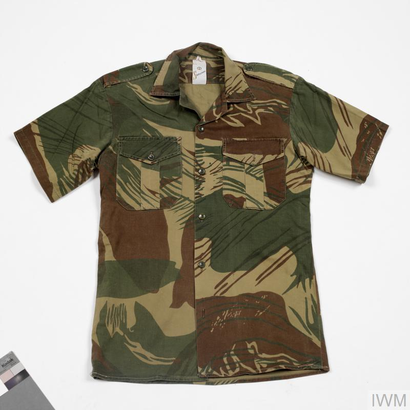 Shirt camouflage rhodesian uni 5334 for Camouflage t shirt design