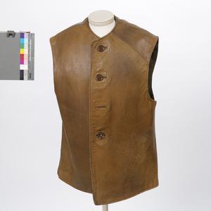 Jerkin, leather: British Army