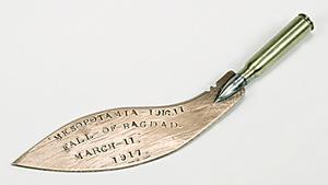 paper knife/kukri, Mesopotamia/Bagdhad WW1
