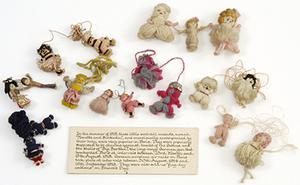 Collection: Nenette and Rintintin woollen doll mascot
